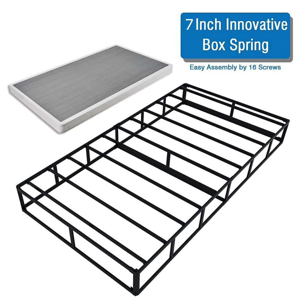 7inches high twin box spring