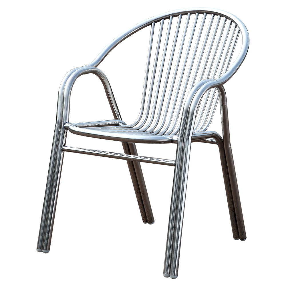 Durable Aluminium Stacking Chair