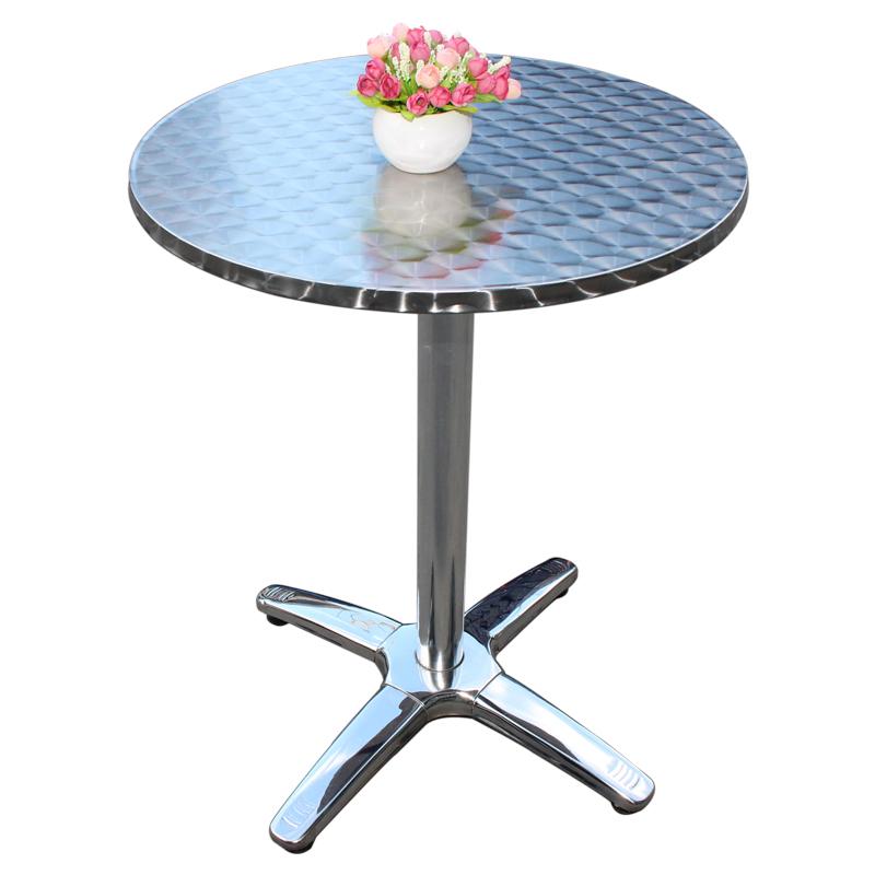 Round SS Table 60cm80cm